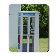 Pay Phone Mousepad
