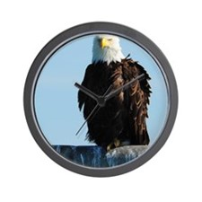 ipadMini_Eagle_3 Wall Clock