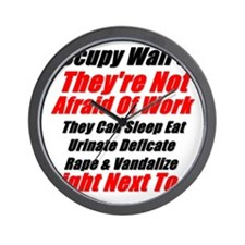 OWS Facts Wall Clock