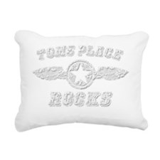 TOMS PLACE ROCKS Rectangular Canvas Pillow