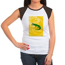 Alligator Ornament (Ova Women's Cap Sleeve T-Shirt