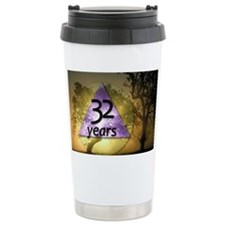 32 Year Birthday - One  Travel Mug