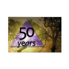 50 Year Birthday - One Day at a T Rectangle Magnet