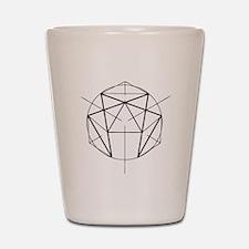 Enneagram Shot Glass