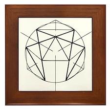Enneagram Framed Tile