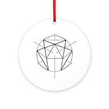 Enneagram Round Ornament