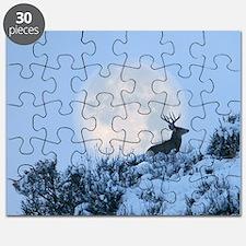Mule deer moon Puzzle