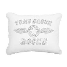 TOMS BROOK ROCKS Rectangular Canvas Pillow