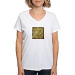 Celtic Letter Z Women's V-Neck T-Shirt