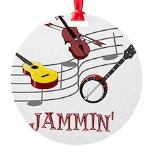 Jammin Bluegrass Country Folk Ornament