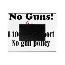 No Guns Picture Frame
