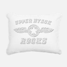 UPPER NYACK ROCKS Rectangular Canvas Pillow