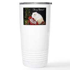 Himalayan Cat Christmas Travel Mug