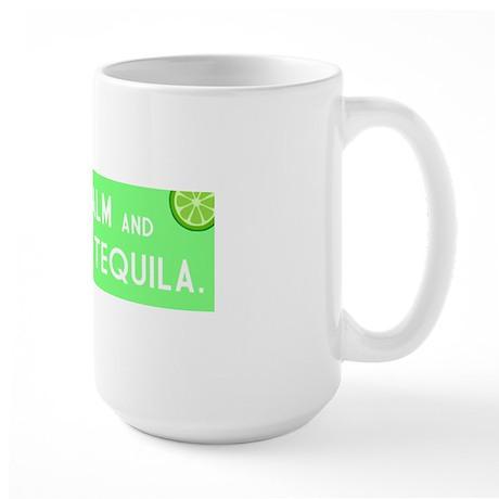 Grab The Tequila Large Mug