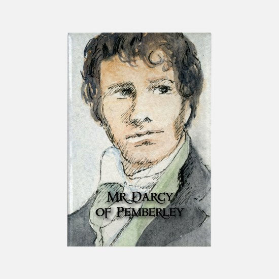 Mr Darcy Of Pemberley Rectangle Magnet