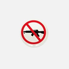 Ban Assault Weapons Mini Button
