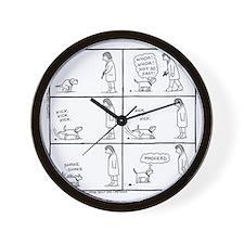 Poo Fun Wall Clock