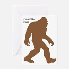 Definition of Bigfoot Greeting Card