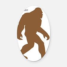 Definition of Bigfoot Oval Car Magnet