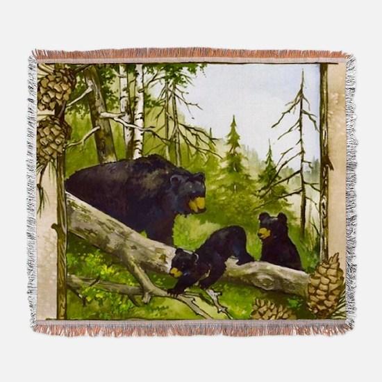 Best Seller Bear Woven Blanket