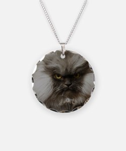 Colonel Meow scowl face Necklace