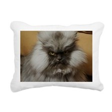 Colonel Meow scowl face Rectangular Canvas Pillow
