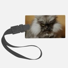 Colonel Meow scowl face Luggage Tag