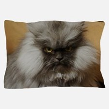 Colonel Meow scowl face Pillow Case