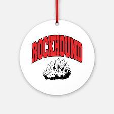 Rockhound Round Ornament