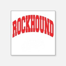 "Rockhound Square Sticker 3"" x 3"""