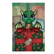 Baby Dragon XMAS Postcards (Package of 8)