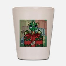Baby Dragon XMAS Shot Glass