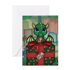 Baby Dragon XMAS Greeting Card