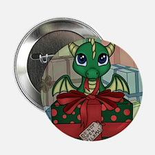 """Baby Dragon XMAS 2.25"""" Button"""