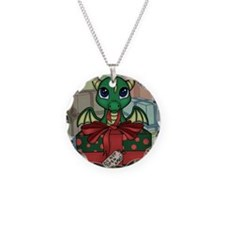 Baby Dragon XMAS Necklace