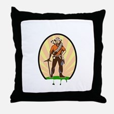 rock42dark Throw Pillow