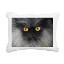 Yellow Eyes Rectangular Canvas Pillow