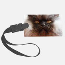 Colonel Meow smells scotch and t Luggage Tag