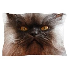 Colonel Meow smells scotch and treatie Pillow Case