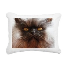 Colonel Meow smells scot Rectangular Canvas Pillow