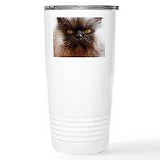 Colonel Meow smells sco Travel Coffee Mug