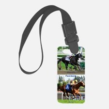 Horse Racing Notebook Luggage Tag