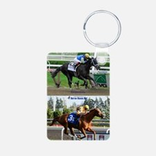 Horse Racing Notebook Keychains