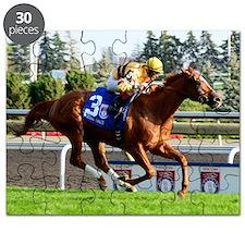 Horse Racing Clock Puzzle