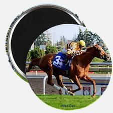 Horse Racing Clock Magnet
