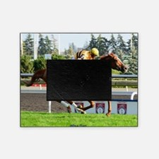 Horse Racing Clock Picture Frame