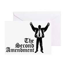 The Second Amendment Greeting Card