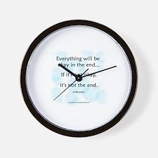 """""""Okay"""" Wall Clock"""