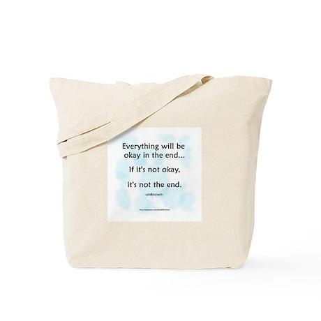 """""""Okay"""" Tote Bag"""