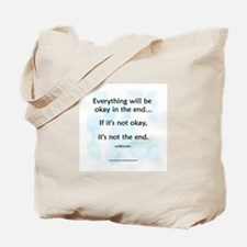 """Okay"" Tote Bag"